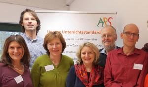 Auf dem Bild sehen Sie einen Teil des Planungsteams der Aktiven-Projekt-Schule. Von links nach rechts: Angelika Thomas-Photiadis, Markus Stilz, Magdalena Wöckel, Regina Georg, Detlef Gaida und Norbert Thomas
